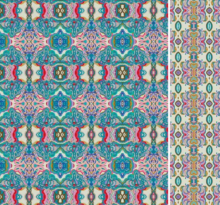 """From Patternobserver.com  Pattern Nostrum is a collection of 36 harmonious patterns, which """"though distinctive in themselves, maintain the shapes and colours of the pictorial matrix from which they derive and can be used for a host of different interpretations and applications within the scope of Industrial Design, Architecture, Surface Design, Editorial Design, Fashion and Textile Design."""""""