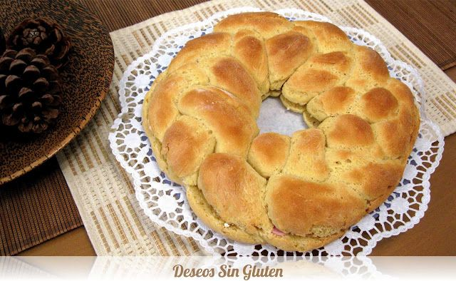 Deseos Sin Gluten: ROSCA RELLENA SIN GLUTEN