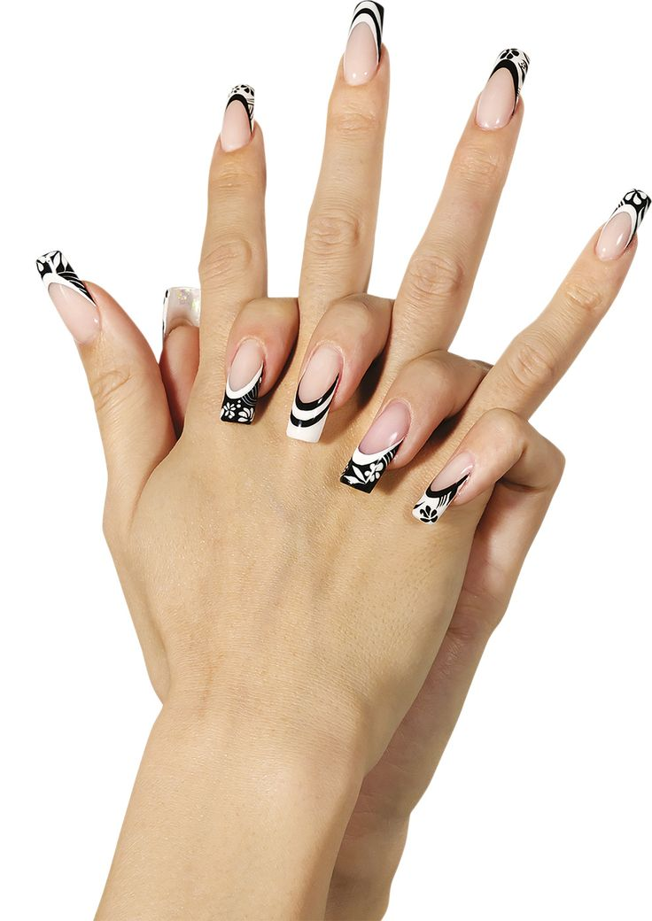 Intramontabile #black & #white per l'estate 2015 targata #Trebosi #nailart #manicure #unghie #polish #summer