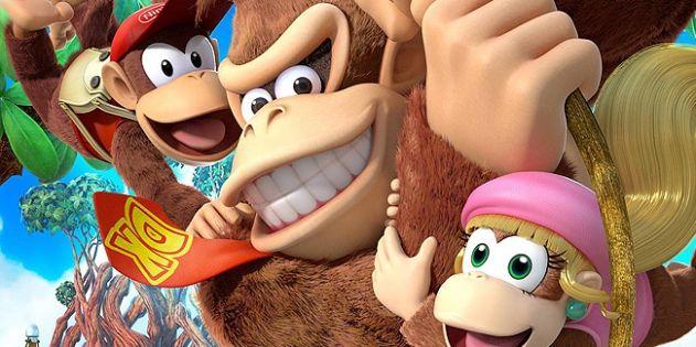 Donkey Kong Country: Tropical Freeze schwingt sich auf die Nintendo Switch – Funky Kong mit dabei: Die Retro Studios haben damals auf der…