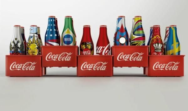 Miniature Interactive Soda Bottles - The New Coca-Cola 2014 FIFA Special Edition Bottles are Tiny (GALLERY)