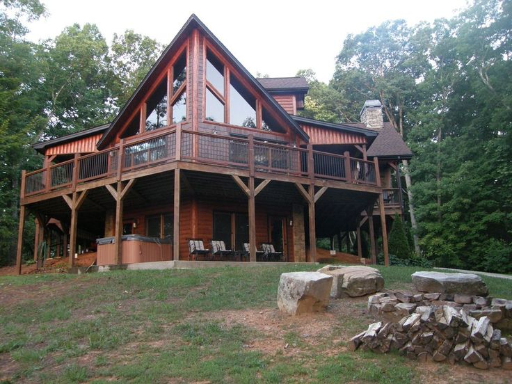 Eagles Rest Is A Family And Pet Friendly Cabin With 3 Master Bedrooms That  Sleeps 10