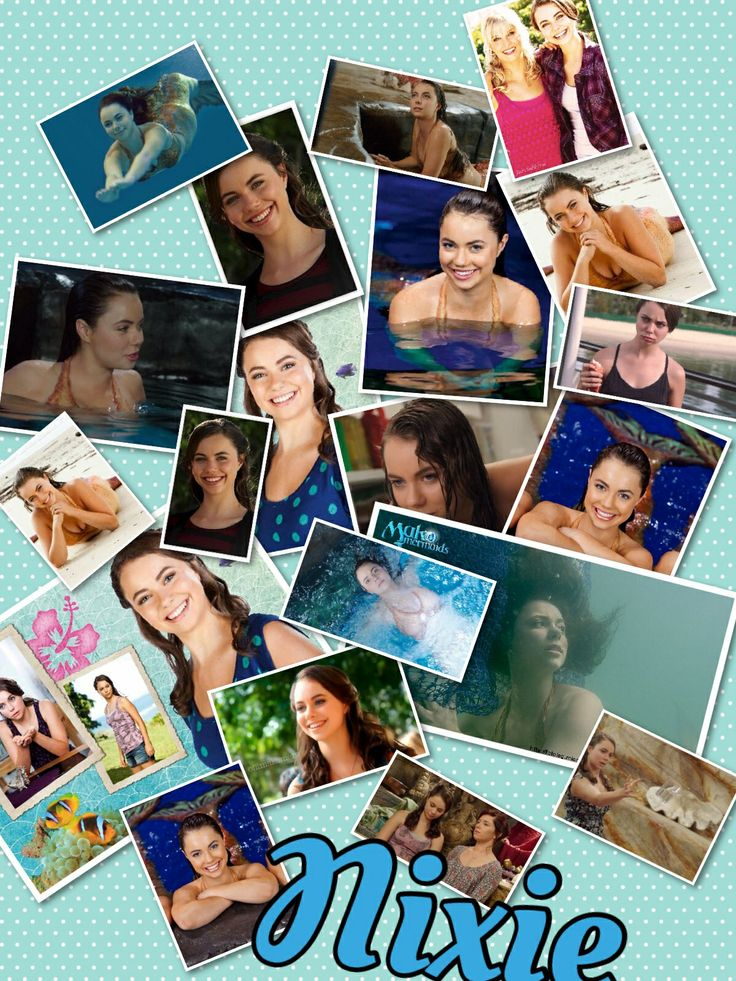 Nixie from Mako Mermaids