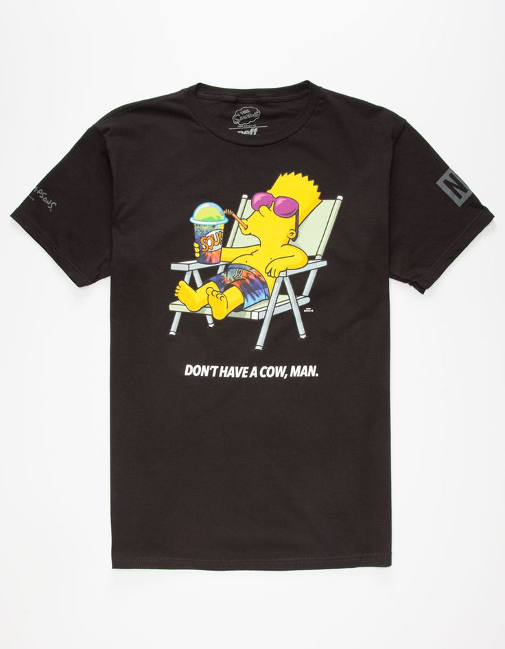 NEFF x The Simpsons Don't Have A Cow Mens T-Shirt 268116100 |