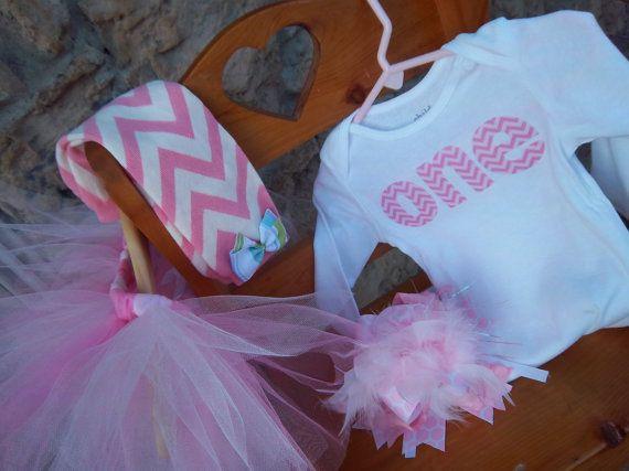 First Birthday Onesie ONLY, First Birthday Shirt, Second Birthday Shirt, Pink Chevron Birthday on Etsy, $23.00