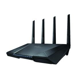 ASUS RT-AC87U AC2400 Dual Band Wireless Gigabit Cable Router | Maplin