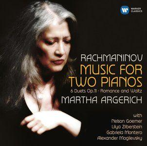 Martha Argerich - Rachmaninov: Music for Two Pianos (2015)