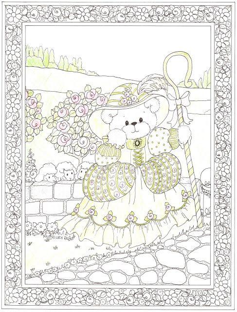 USED COLORING BOOK~Lucy & Company Coloring Book - peapup 6 - Álbumes web de Picasa