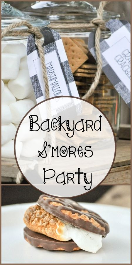 Throw the perfect smores party in your own backyard by following these quick and easy steps