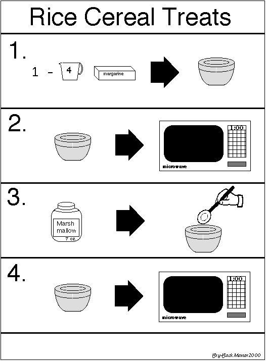 Rice Crispies - Picture Recipe