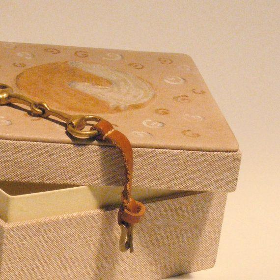 Horse Year II. box gift box store case paper box by bookandbox, $38.00