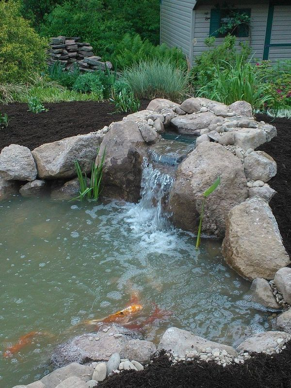 Pond Build Before U0026 After (Lancaster, PA)
