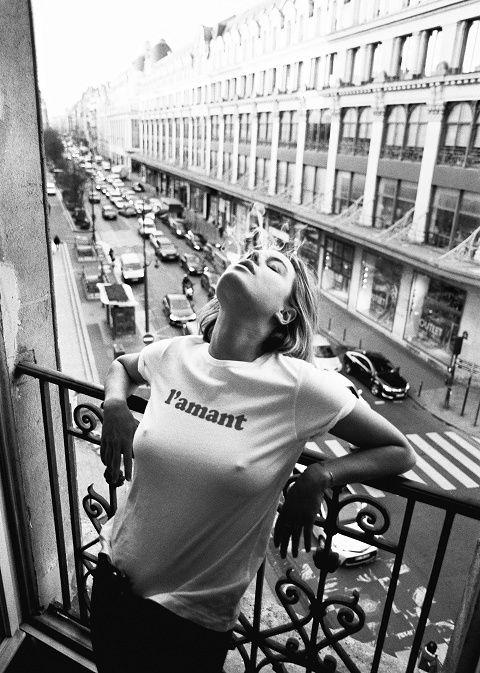 Sézane - T-shirt L'Amant