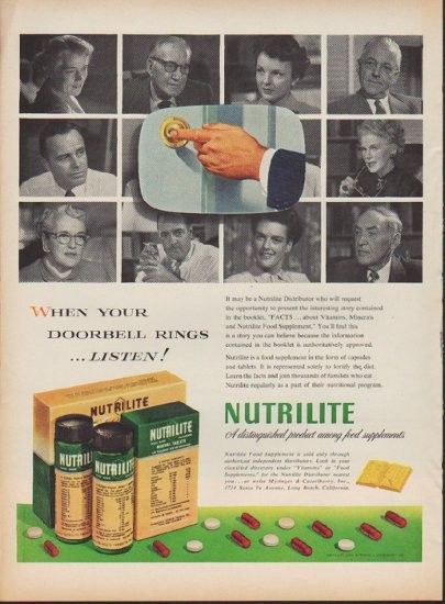 Image result for nutrilite vintage