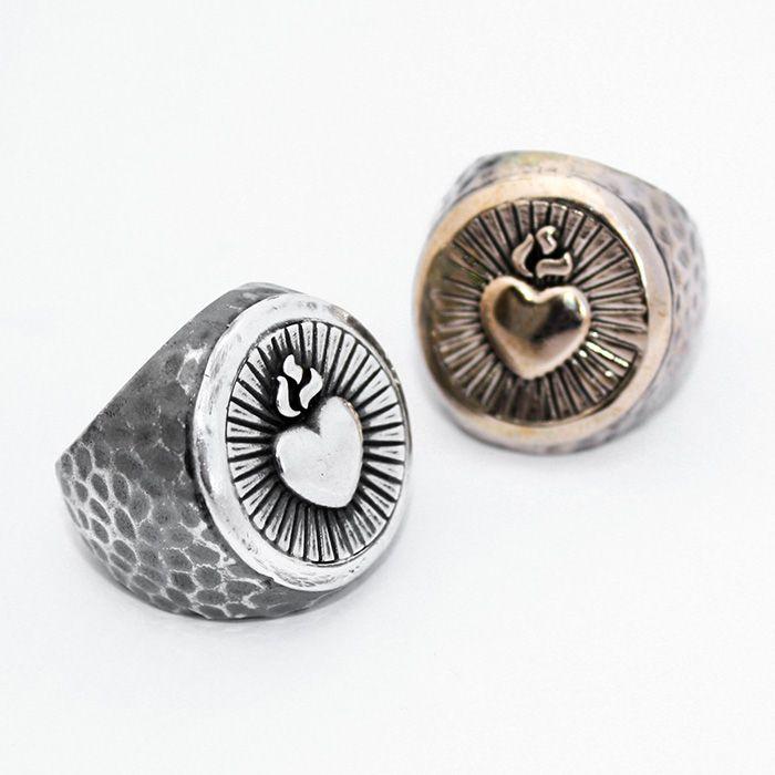Anelli con cuore sacro <3 http://shop.vangle.it/ultimi-arrivi