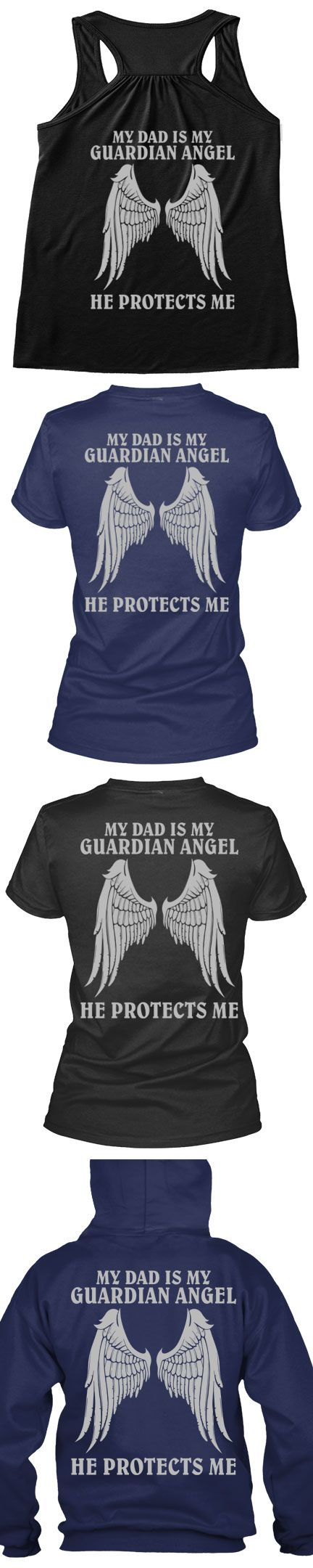 Is Your Dad Your Guardian Angel? Tag Someone You Want To Buy This For Or Get Yours, Click The Image To Buy It Now!