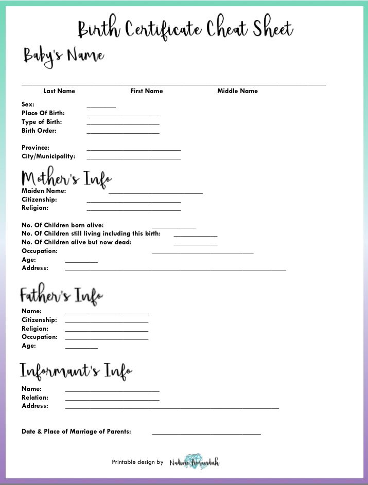 Best 25+ Get birth certificate ideas on Pinterest Cabbage patch - blank birth certificate form