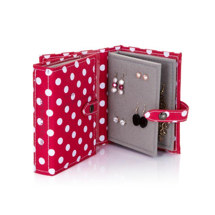 Little Book of Earrings - Polka Dot