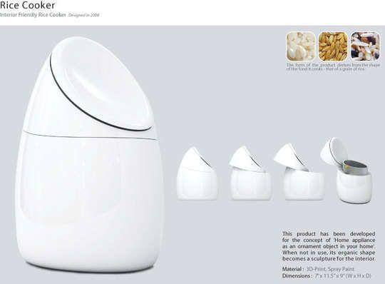 Ravishing Rice Cookers: Sang Jang Lee's Egg-Shaped Pot is Simply Gorgeous