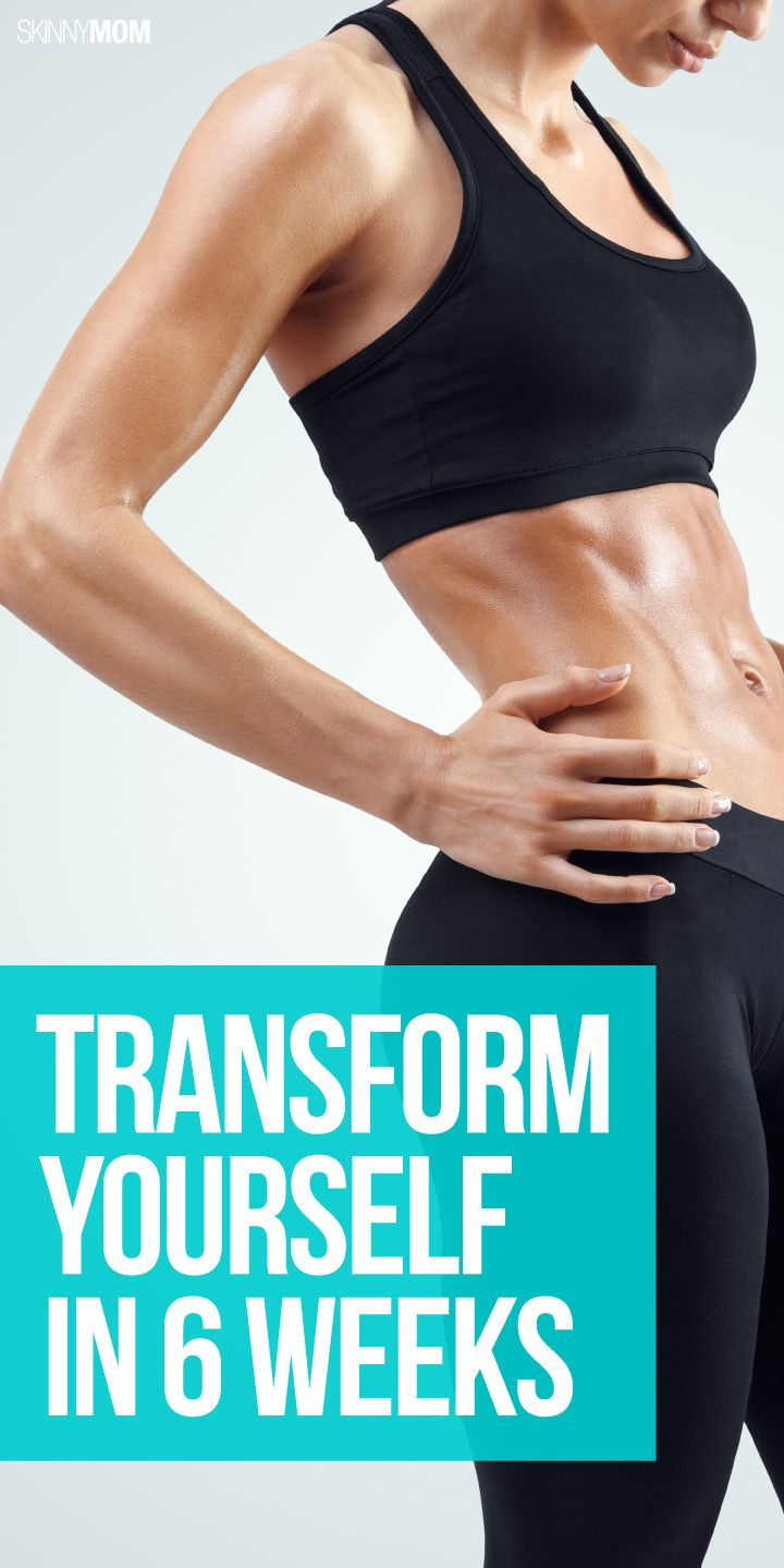 Change your body in just 6 weeks with these tips.