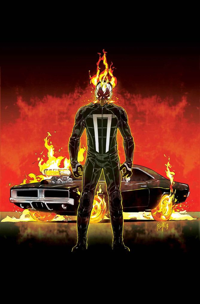 First look at Marvel's new street racing inspired  All-New Ghost Rider #1