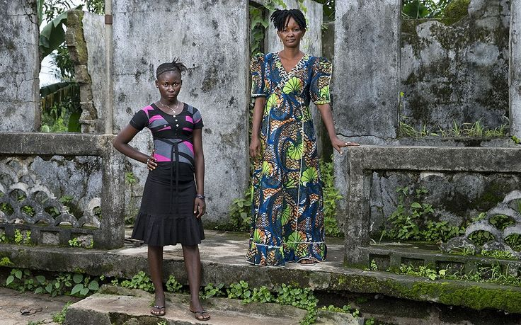 In Sierra Leone's civil war, young girls were captured, raped and forced to   take up arms. Here, more than a decade later, they share their stories