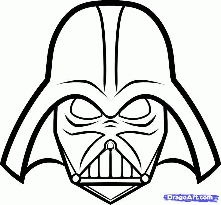 Printable Darth Vader mask