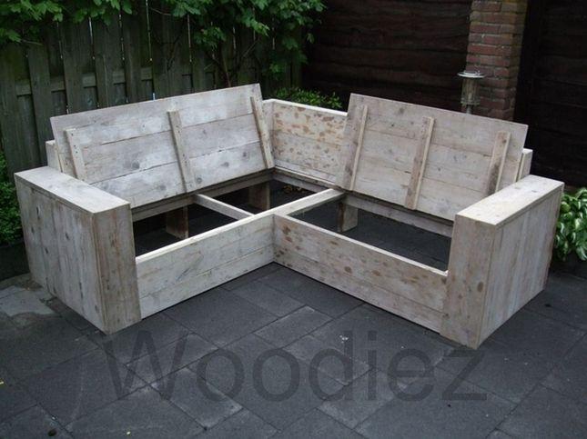Woodiez bergeijk voor al uw perfect afgewerkte steigerhouten hoekbank en ook voor uw