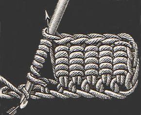 Novo ponto de crochet