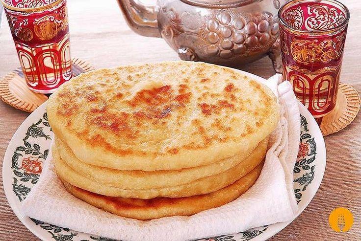 Pan naan. Recetas de pan casero | Recetas de Cocina Casera | Recetas fáciles y sencillas