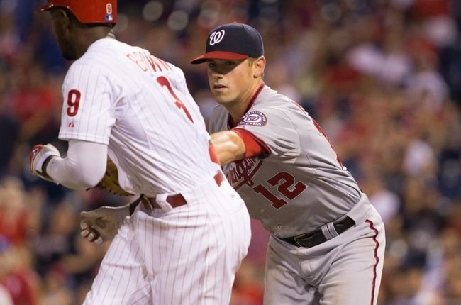 Philadelphia Phillies vs. Washington Nationals - 6/27/15 MLB Pick, Odds, and Prediction