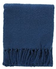 Ink Blue Rhapsody Throw-throws-cravehome