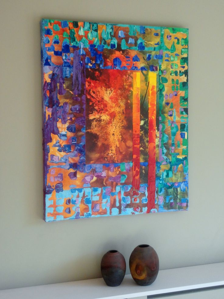 Abstract Art by Paul Mason- wow love these colors