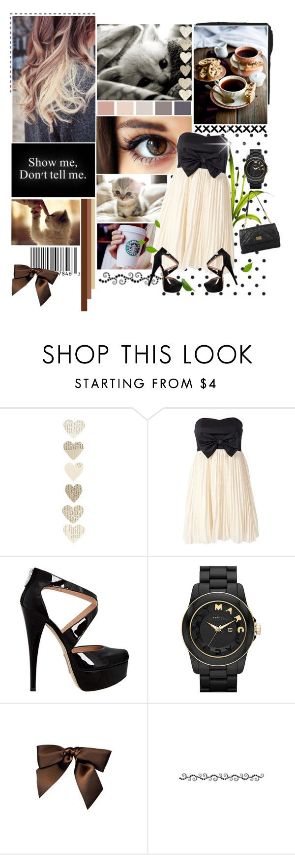 """Be Classy"" by dreamy-girl1 ❤ liked on Polyvore featuring Te Amo, Alejandro Ingelmo, Marc by Marc Jacobs, Bocage and Dolce&Gabbana"