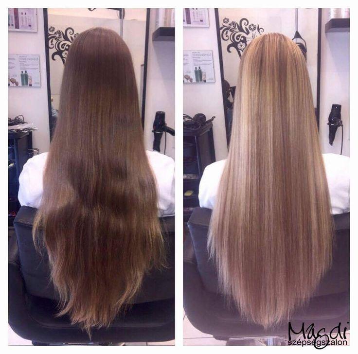 Noémi és Alexandra hajfestése, csodaszép haj, kicsit irigyeljük is a viselőjét ;)