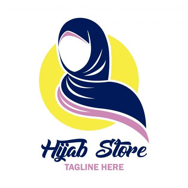 Hijab Store Logo | Kartun, Desain logo bisnis, Desain logo
