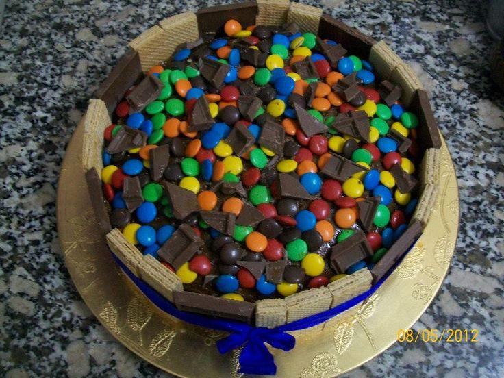 Torta de golosinas - Rocklets Cake | tortas lindas | Pinterest
