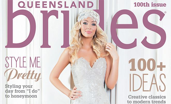 Go Behind-The-Scenes Of the Queensland Brides Winter '15 Cover