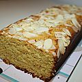 Gâteau orange amande à la farine de pois chiche - Enfants et bébés végétariens, végétaliens et vegans