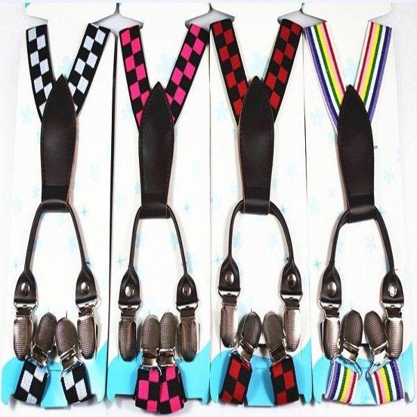 Adjustable Child Clip-on Pants Y-back Suspender Braces Elastic Kid Toddler Belts Free shipping & Drop shipping