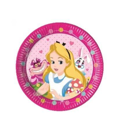 Alice in Wonderland borden verjaardag | Leuke Alice in Wonderland versiering voor een feestje verkrijgbaar bij Feestwinkel Altijd Feest.