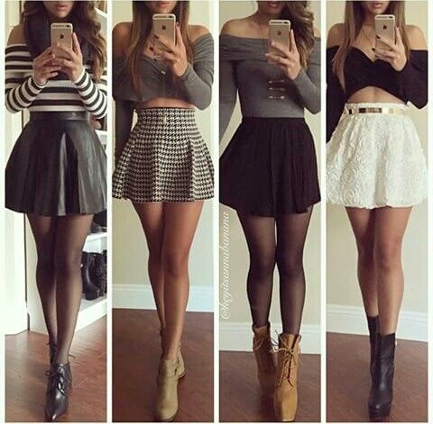 Imagem de fashion, outfit, and skirt