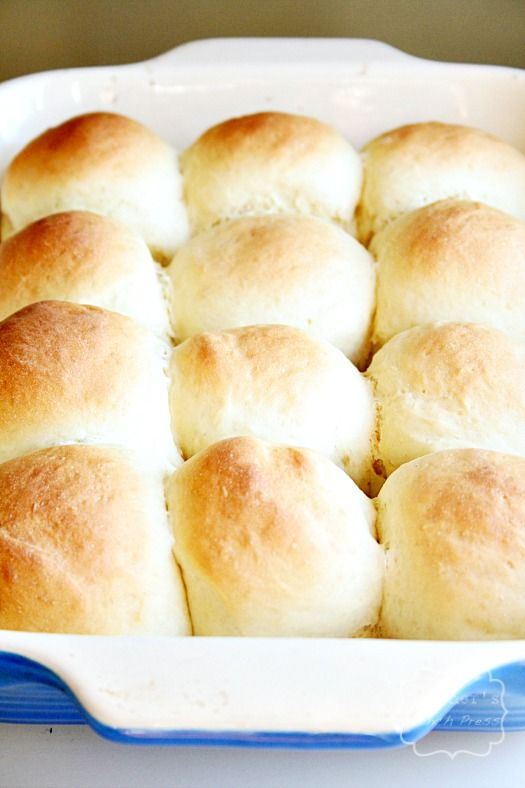 30 Minute Dinner Rolls....via French Press...