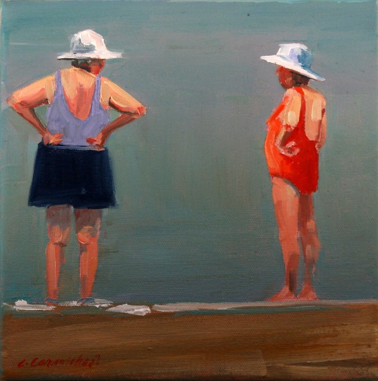 Carol Carmichael-Not everyone on the beach is beautiful!  All that matters is that they enjoy themselves....our God-given right!!