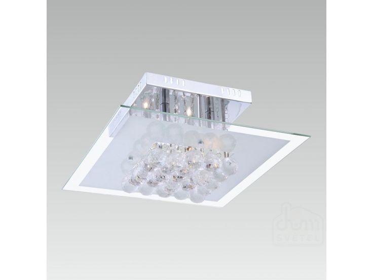 stropní svítidlo Prezent Sevilla 31020; 6*G9/40W; Krytí: IP20; chrom/bílá/čirá