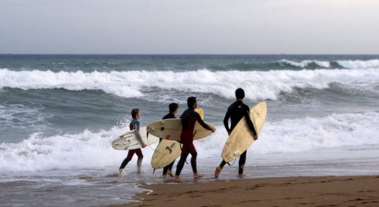 Best surfing spots in Barcelona and near to the city - http://bcn4u.com/best-surfing-spots-in-barcelona-and-near-to-the-city/