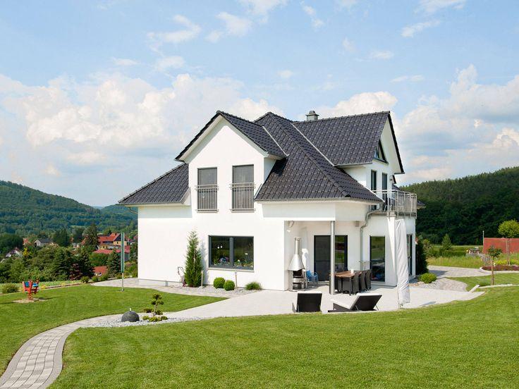 Hausbau ideen mit garage  28 besten Ideen Haus Bilder auf Pinterest | Traumhaus, Wohnen und ...