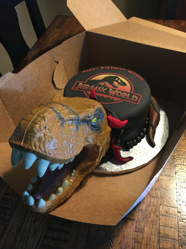 Jurrasic World Cake Cakes Pinterest Cakes And World