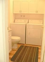laundry with half bath - Google Search size looks good