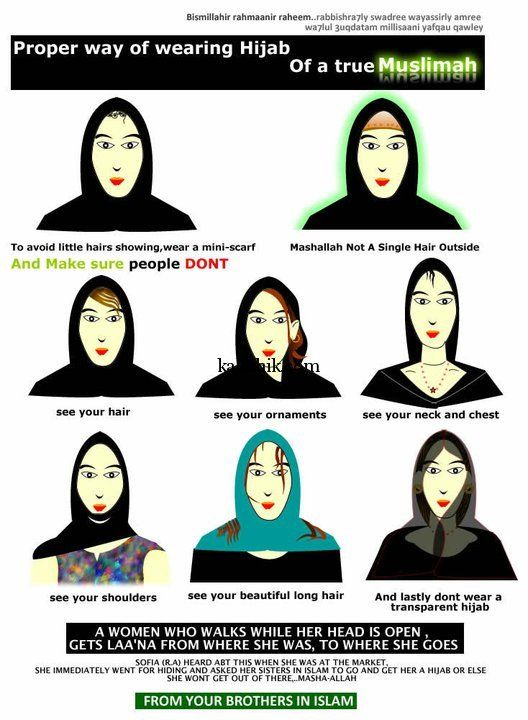 "this is logic of ""hijab"" Saudi/Iran/Qatar style. Here is guide.Why your neck & ""little hairs"" are ""awrah,"" or your ""private"" sexuality"